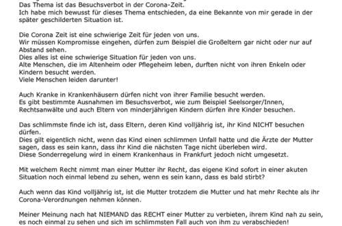 Lea - 13 Jahre - Praunheim